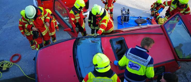 Gemeinsame Übung mit dem Rettungsdienst