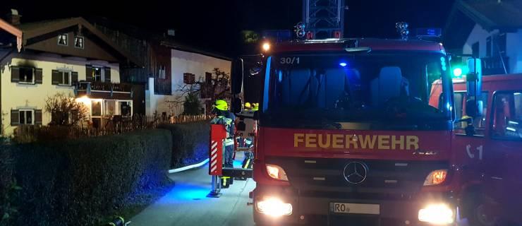 Zimmerbrand in der Sailerbachstraße