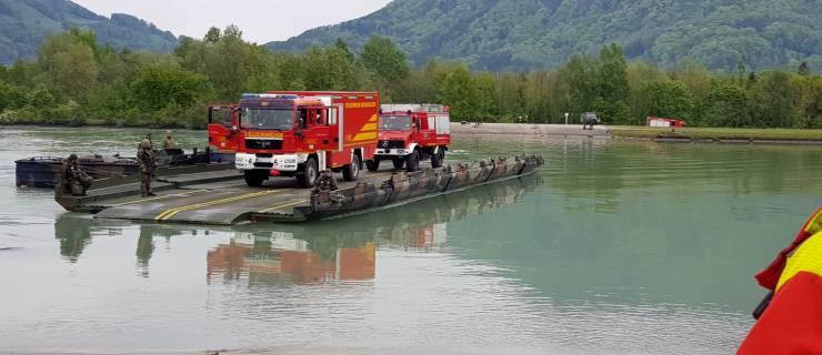 Bundeswehr übt im Inntal – Feuerwehr mit dabei