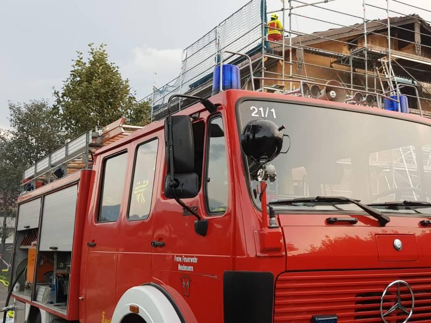 Großbrand in Oberaudorf